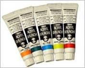 11 ml of uncertain acrylic paints acrylic gouache normal colours are unicolor