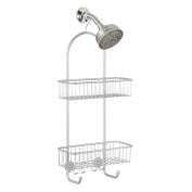 Interdesign Classico 2 Shower Caddy, Storage For Tall Shampoo, Conditioner, Soap