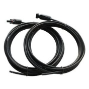 Pair Of 5m 6.0mm Single Core Extension Cables With Mc4 Connectors For Solar And