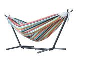 Vivere C8sunc 250 Cm Combo Sunbrella Carousel Confetti Hammock With Stand -