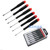 Torx Star 6pc Precision Screwdriver Set Kit T5 T6 T7 T8 T9 T10 Mobile Repair Box