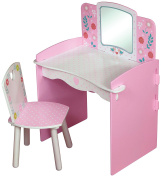 Kidsaw Country Cottage Dressing Table, 40 X 56 X 79 Cm, Multi-colour