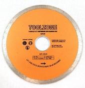 "Toolzone 115mm (4-1/2"") Disc Continuous Rim Diamond Cut"