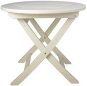 Fallen Fruits Round Folding Table - Cream