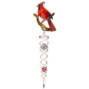 Iron Stop Twc130-7m 40cm Designer Cardinal Crystal Twister - Copper Red