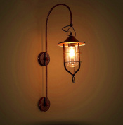 Creative Retro Lighting Villa Outdoor Wall Lamp Courtyard Wall Lamp Cafe Hotel Balcony Wall Lamp