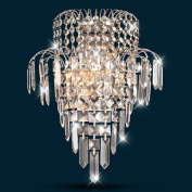 Good thing wall lights Crystal wall lamp modern simple living room bedroom bedside lamp hotel project led wall lamp