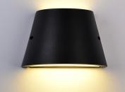 POPA Wall lamp Balcony LED Wall Lamp Outdoor American Modern Simple Courtyard Lamp Dustproof Waterproof Damp Channel Aisle