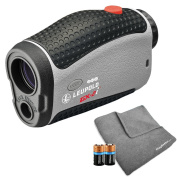 Leupold 2017 GX-2i3 Golf Rangefinder Bundle | Includes Golf Laser Rangefinder (Slope & Non-Slope Function) with Carrying Case, PlayBetter Microfiber Towel and Two (2) CR2 Batteries