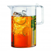 BODUM Ceylon Ice Tea Jug with Filter, Clear, 3.0 Litre, 2990ml