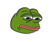 Sad Pepe the the Frog Lapel Pin