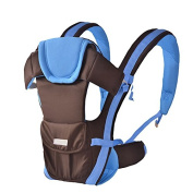 ThreeH Baby Carrier Toddler Comfort Backpack with Waist Belt & Pocket BC07,Blue