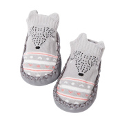 SEWORLD Cartoon Newborn Baby Girls Boys Anti-Slip Socks Slipper Bell Shoes Boots