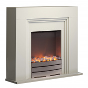 Warmlite Wl45011 York Fireplace Suite, 2000 W - Ivory