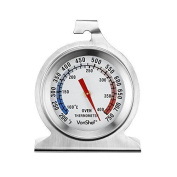 Vonshef Precision Oven Thermometer Stainless Steel - Hang Or Stand In Oven Tempe