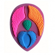 Lynch Angel Wings Silicone 3d Mould Bakeware Cake Decorating Fondant Soap Mould