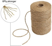 Tenn Well 90m Natural Jute Twine 6 Ply Arts And Crafts Jute Rope Industrial