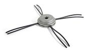 Oregon 110980 Universal Aluminium Fixed Trimmer Head With Nylium Line