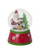 Christmas Snow Globe Rudolf The Red Nose Reindeer Musical Christmas Decoration