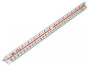 Helix 300mm Metric Triangular Scale Rule