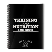 Gym And Nutrition Log Book - Pocket Book With Tough, Clear Plastic Covers