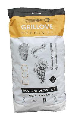 Grill Love Premium Beech Charcoal - 10kg