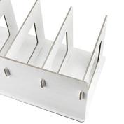 Bxt Detachable Desktop Storage Box Wooden Board Diy Organiser Shelf Office