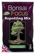 Bonsai Focus Repotting Mix 2 Litre New
