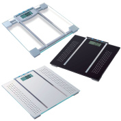 150kg Digital Lcd Electronic Bathroom Weighing Scale Bmi Calorie Body Fat New