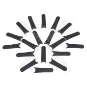 Plastic Cutting Blades X 20 Fits Flymo Mow N Vac 28 Fl246 Fly014