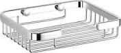 Luxxur ™ C012 Superior Chrome On Brass Soap Dish Shower Caddy - Totally