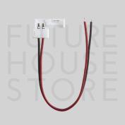 8mm Solderless 2-wire Connector Clip 3528 Led Strip Light Power Single Colour Uk