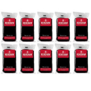 10 X Renshaw Ready To Roll Icing Fondant Cake Regalice Sugarpaste 500g Jet Black