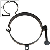 Dungeon Mediaeval Collar - Neck Shackles Ring Cuff Black Iron Forged