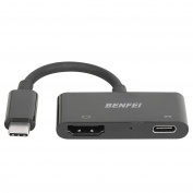 USB-C to HDMI, Benfei USB C Digital AV Multiport Compact Adapter | USB Type C to HDMI | USB-C Female Charger Converter