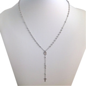 925 Sterling Silver Rosary Chain of the Miraculous Medal