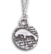 Double Sided Manatee Charm Pendant Necklace by Pashal …