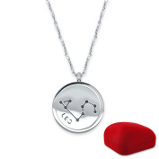 SoulCats® Star Sign Necklace 50cm made of stainless steel in silver with gift wrapping. Horoscope Zodiac Signs of the Zodiac