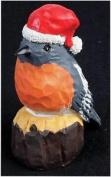 Realistic Twittering Christmas Robin Ornament Xmas Decoration