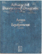 Tsr 2123 Ad & d 2nd Edition Rules Supplement Dmgr3 Arms And Equipment Guide