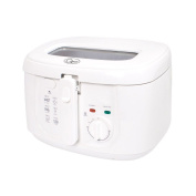 Quest 2.5 Litre Electric Deep Fat Fryer Kitchen Fry Frying Basket 1800w White