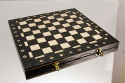 Top Quality 41cm Wooden Folding Black Chessboard / Chess Board - Hand Crafted 40