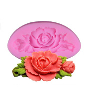 Lalang Flower Fondant Mould Silicone Cake Decorating Mould