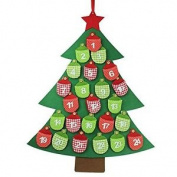 Gisela Graham : Felt Tree Advent Calendar