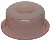 Large Lockable Plastic Cake Carrier Cake Storage Container Cake Dome With Lid BPA Free