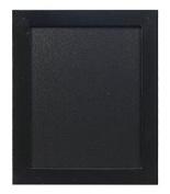 Securit Woody 20x24cm Wall Chalk Board - Black