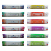 """12 X 15g Variety Pack Of Satya """"religious"""" And """"philosophy"""" Series Incense"""