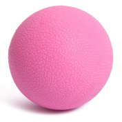 Stebcece Massage Lacrosse Balls for Myofascial Release, Trigger Point Therapy, Muscle Knots, and Yoga Therapy - Pink