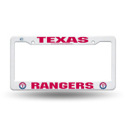 Texas Rangers Official MLB 30cm x 15cm Plastic Licence Plate Frame by Rico Industries