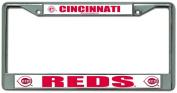 Cincinnati Reds Chrome Licence Plate Frame